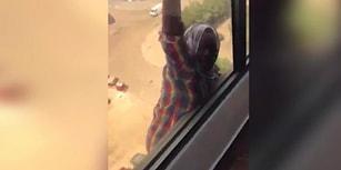 Vicdansız Ev Sahibinin Düşerken Kameraya Aldığı Ev İşçisi Konuştu: 'Beni Öldürecekti'