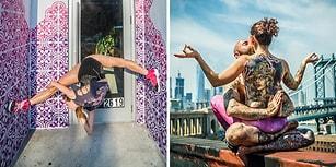 'Yoga ve Şehir:' Şehir Karmaşasının Meditasyon Sükunetiyle Harmanlandığı 17 Renkli Kare