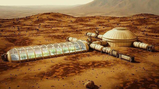 """19. """"TURK(Türkiye Uzay ve Rasathane Kurumu) 2024 yılında Mars'a insan göndermek için çalışmalarını aralıksız sürdürüyor."""""""