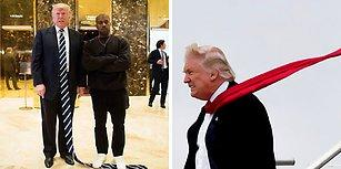 Trump'ı Boyundan Büyük Kravatlarla Taçlandıran Photoshop Ustalarından 24 Çalışma