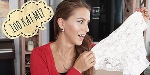Üst Üste 100 Kat İç Çamaşırı Giyen Türk Youtuber