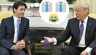 Donald Trump'ın Kravatlarını Uzatmaya Bayılan Hesaptan 15 Komik Paylaşım