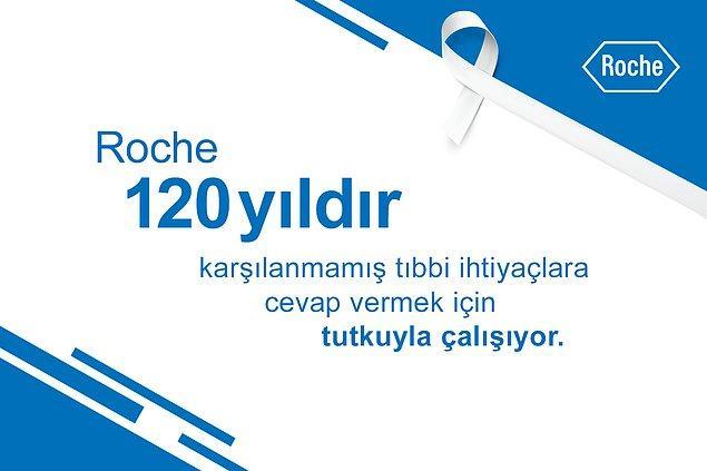 7 - 13 Nisan Sağlık Haftası'nda Roche'den herkese sağlıklı, uzun bir ömür dilekleriyle...