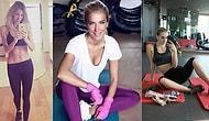 Kusursuz Fiziğe Sahip Olmak İçin Bolca Ter Döken ve Spor Salonundan Çıkmayan 21 Ünlü Kadın