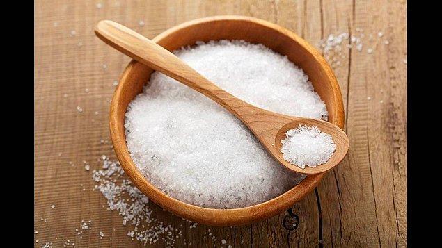 8. Kepeğe karşı: Tuz!