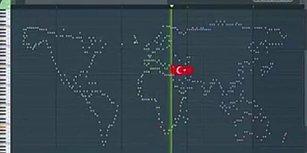 Şaşırtıcı Türkiye Notalarıyla, Dünya Haritasının Müziği