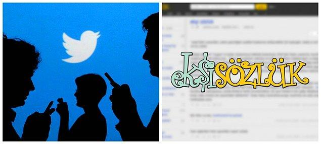 Sosyal medya ve Ekşi Sözlük de tartışmalara ortak oldu...