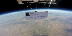 Uzayda Yapılan İlk Protestoda ASAN, Donald Trump'a Küfür Etti