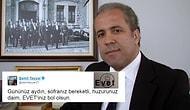'Evet' Tercihli Oy Pusulasını Twitter'dan Paylaşan Şamil Tayyar'a Tepkisini Gösteren 11 Kişi
