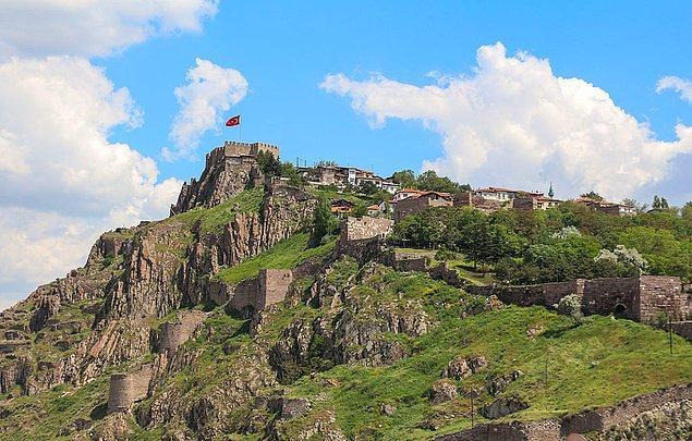 9. Ankara'nın 2000 yıllık tarihi güzelliği: Ankara Kalesi