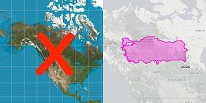 Klasik Dünya Haritasının Ne Kadar Aldatıcı Olduğunu Yüzümüze Çarpan 13 Karşılaştırma