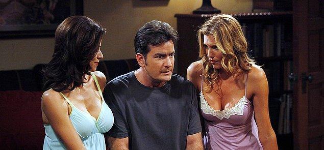 6. Charlie Sheen'in en kötü alışkanlığı şüphesiz ki, seks bağımlılığı!