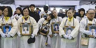 Güney Kore'deki Feribot Faciasının Yıl Dönümü: 3 Yılda Değişmeyen Tek Şey Ailelerin Kederli Fotoğrafları