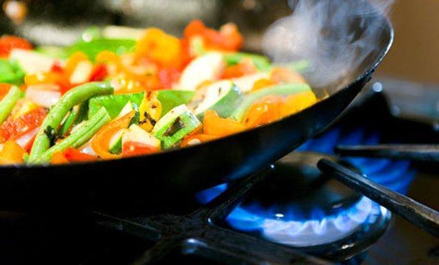 5. Her yemeğin tekrar ısıtılmayacağını unutmayın.