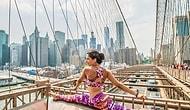 Şehir yaşantısı ve yoganın şaşırtıcı güzellikteki uyumu