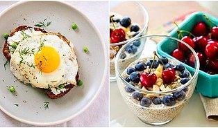 Spor Yapanların Vazgeçilmezi Olacak Düşük Kalorili ve Yüksek Proteinli 12 Pratik Kahvaltı
