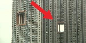Çok İlginç Bir Soru: Hong Kong ve Çin'deki Bazı Gökdelenlerde Neden Büyük Delikler Var?