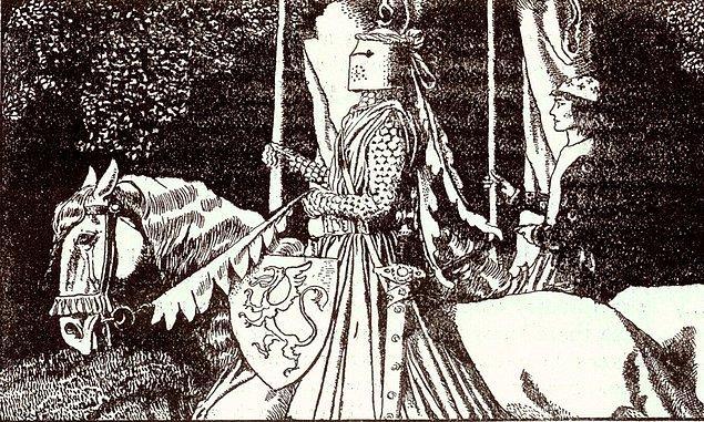17. Sir Gawain ve Yeşil Şövalye