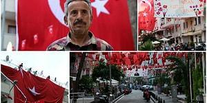 Neşe Doluyor İnsan: 23 Nisan'da Mahallesini Bayraklarla Donatan Terzi Salih Yazgan ile Tanışın!
