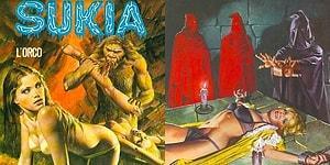 Emanuele Taglietti'nin Seks ve Korkuyu Birleştirdiği Dehşet Verici Erotik Sanatından 28 Kare