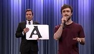 "Daniel Radcliffe'ten inanılmaz Blackalicious' ""Alphabet Aerobics"" Gösterisi!"