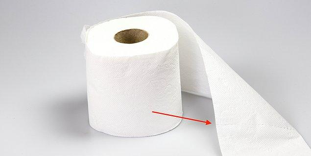 14. 1930 yılından önce tuvalet kağıtlarının yırtma boşlukları yoktu.
