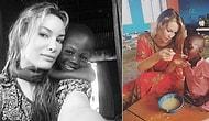 İyilik Meleği Oldu! Her Fırsatta Afrika'daki Yardıma Muhtaç Çocukların Yanına Giden Gamze Özçelik