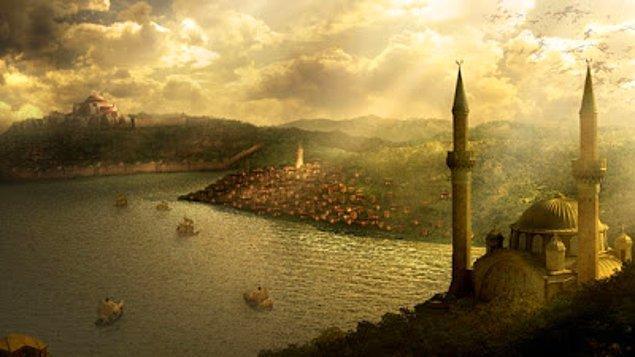 9. Son olarak, İstanbul'un üzerine kurulduğu meşhur yedi tepeyi işaretlemeni isteyelim!