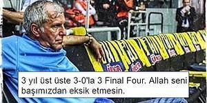 Fenerbahçe'nin Panathinaikos'u 3-0 Devirip Final Four'a Çıkmasını Kutlayan 15 Kişi