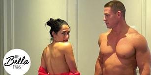 John Cena ve Nişanlısı Nikki Bella 500.000 Aboneyi Soyunarak Kutladı!