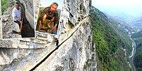 Çin'de Köyüne Su Getirebilmek İçin 36 Yıl Boyunca Kanal Kazan Adam