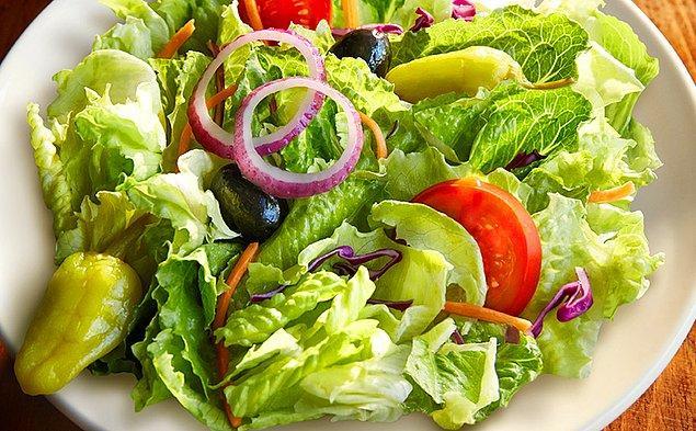 Bağışıklık sisteminiz de bu kısıtlı sebze tüketiminiz neticesinde zayıflayacaktır.