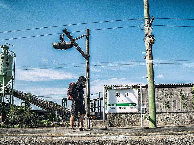 """Fakat kurallara uymayı pek de kendine uygun görmeyenler mesela 27 yaşındaki Malezyalı fotoğrafçı Keow Wee Loong gibi, Fukushima'nın """"No Entry (Girilmez)"""" politikasını görmezden gelmeyi seçti ve inanılmaz fotoğrafları çekti."""