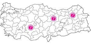 Sadece Coğrafya Dahileri Bu Türkiye Haritası Testinde 15 Doğru Yapacak!
