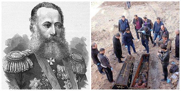 Rus tarihi bilgilerde nerede toprağa verdiği konusunda bilgi yok.