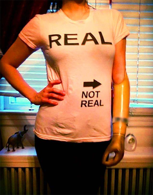 2. Gerçek ve gerçek olmayan. 😅