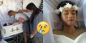 Yürek Burkan Son Dileğini Gerçekleştirip 'Huzur İçinde Ölen' 20 Yaşındaki Kemik Kanseri Kadın