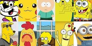 En Sevilen Çizgi Film Karakterlerinin Her Zaman Sarı Renkli Olduğunu Fark Etmiş miydiniz?