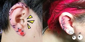 Dövme Sanatına Yeniden Can Veren Sarmal Kulak Dövmelerinden 13 Muhteşem Örnek