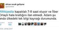 Vikipedi'ye Türkiye'den Erişimin Engellenmesini Yorumsuz Bırakmamış 15 Kişi