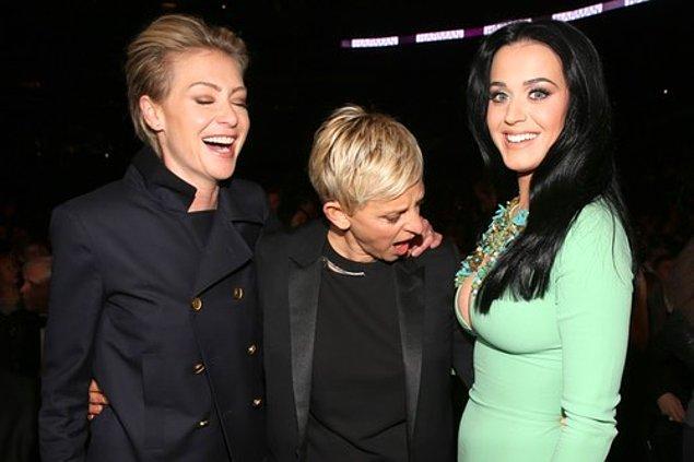 3. Ellen DeGeneres ve Katy Perry