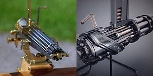 Silahların İşleyiş Mekanizmasını Gösteren, Dijital Ortamda Hazırlanmış 13 Muhteşem GIF
