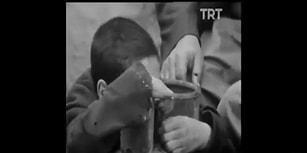 TRT Arşivi'nden Çıkan, Gerçek Olduğuna İnanamayacağınız Bir Hikaye: Tüp Gaz İçen Çocuk