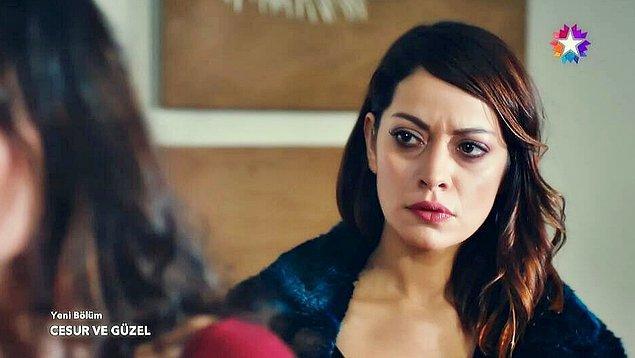 4. Cahide Korludağ ise Türk televizyonlarındaki gelmiş geçmiş en yılan yenge karakteri!