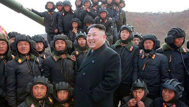 Son aylardaki küresel iklim problemleri ve Kuzey Kore-Amerika arasındaki nükleer gerginlikten de söz ediyor.