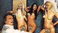 Salvador Dali'nin 1973 Yılında Playboy İçin Yaptığı Sıradışı ve Seksi Fotoğraf Çekimi
