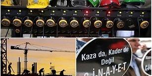 Türkiye İşçi Ölümlerinde Avrupa'da Birinci, Dünyada Üçüncü Sırada Yer Alıyor...