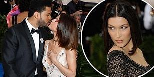 Bella Hadid'in Yalnız Katıldığı Met Gala'da Aşklarını Doyasıya Yaşayan Selena ve The Weeknd