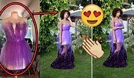 Balodan Bir Gün Önce Dikmeye Başladığı Elbisesiyle İnternetin Kalbini Kazanan Genç Kadın