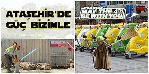 Sosyal Medyada #Maythe4thbewithyou Çılgınlığı: 4 Mayıs Star Wars Günü'ne Kayıtsız Kalmayan 7 Belediye